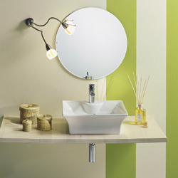 TANGO LAY-ON WASHBASIN