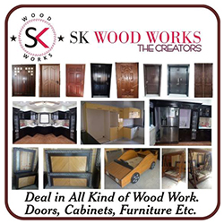 deal in all kind of wood works