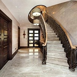 stairs indoor marble